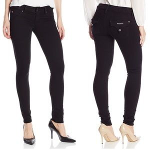 Hudson Jeans Collin Skinny Flap Pocket Black SZ 27